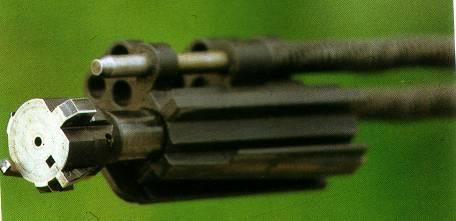 Testina rotante dell'otturatore